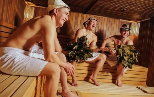 Польза бани для здоровья мужчин