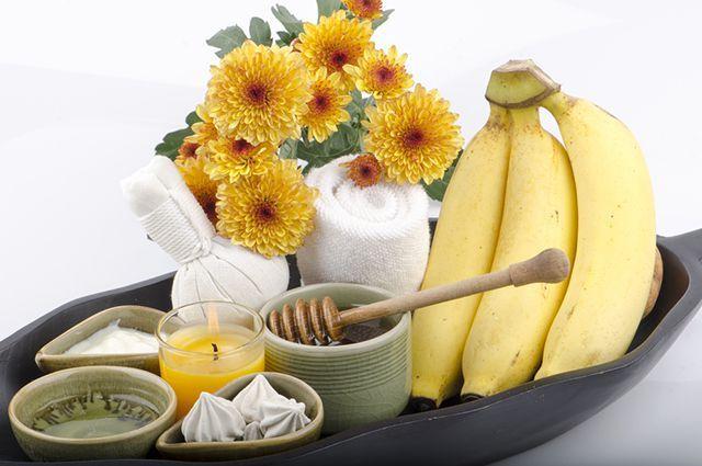 Рецепты масок из банана